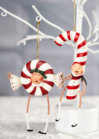 Patsy & Peppie Ornaments by Lori Mitchell
