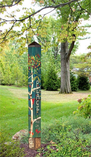 Studio-M Peace Tree 5' Art Pole