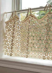 Heritage Lace Crochet Envy Pearl Valance