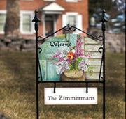 Personalization Tag for Garden Sign Stands