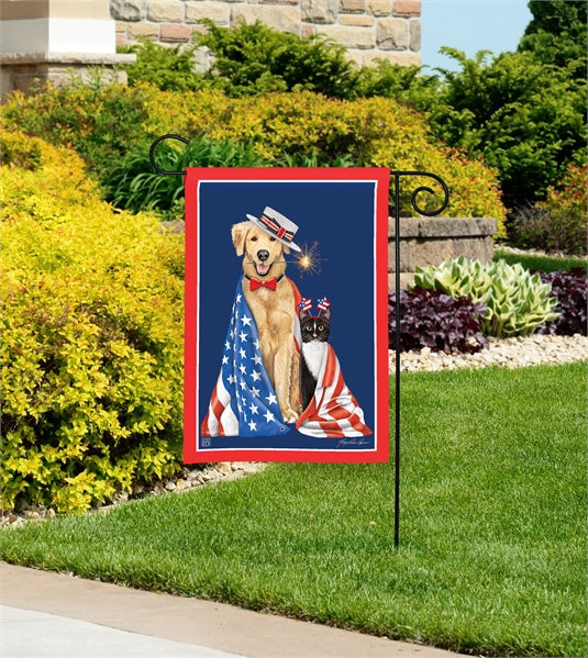 Studio-M Pets on Parade Garden Flag