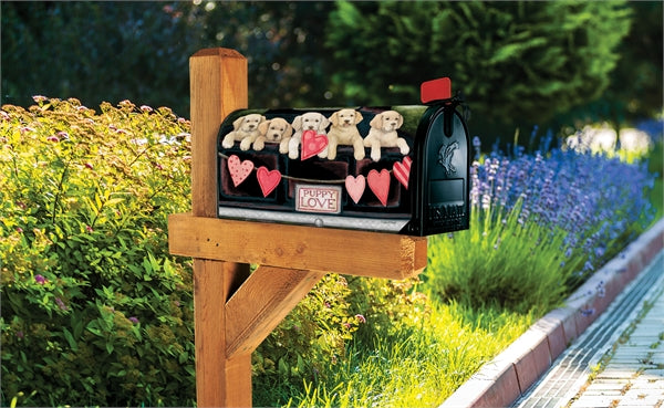 Studio-M Puppy Love Mailbox Wrap