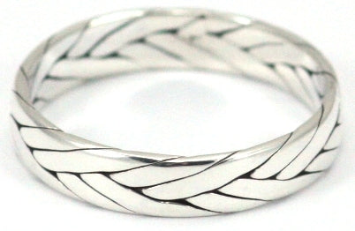 Indiri Collection Woven Band Ring