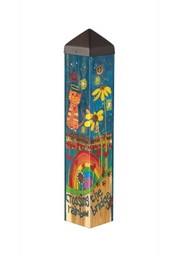 "Studio-M Rainbow Bridge Cat 20"" Art Pole"