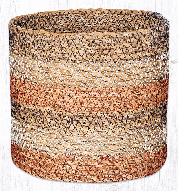 Capitol Earth Rugs Honeycomb Sedge Grass Basket