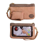 Save the Girls Catchy Clutch Touchscreen Purse, Just Peachy