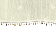 Heritage Lace Sand Shell Collection, close up of shell trim