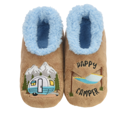 Happy Camper Snoozies Slippers