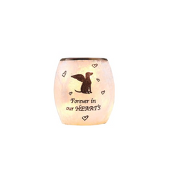Beloved Dog Lighted Glass Vase, 3