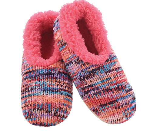 Space Dye Chenille Snoozies Slippers for Women