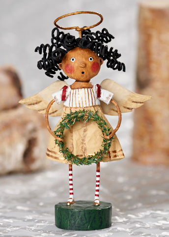 Seasons Greetings Angel by Lori Mitchell