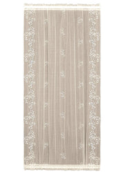 Heritage Lace Sheer Divine Door Panel, Ecru