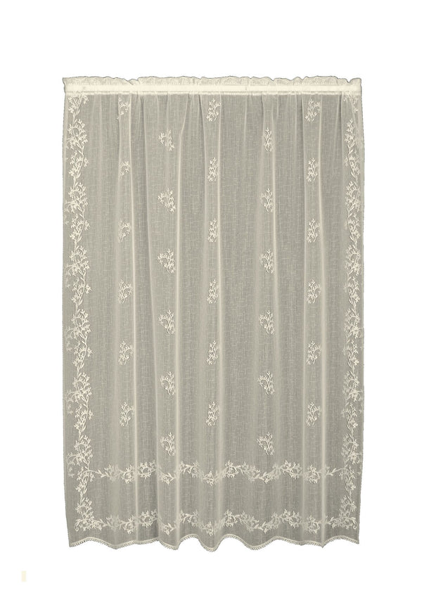 Heritage Lace Sheer Divine Panel, Ecru