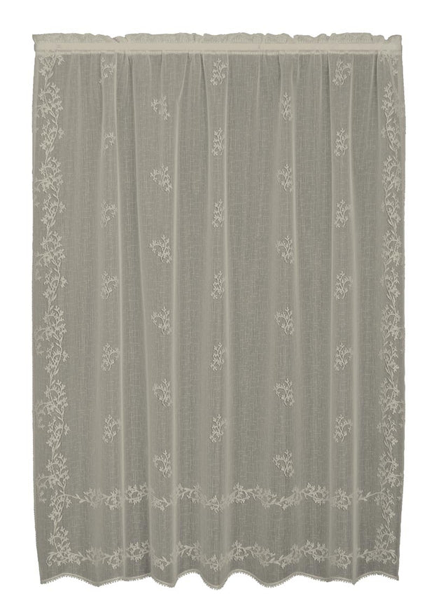 Sheer Divine Curtain Collection, Flax