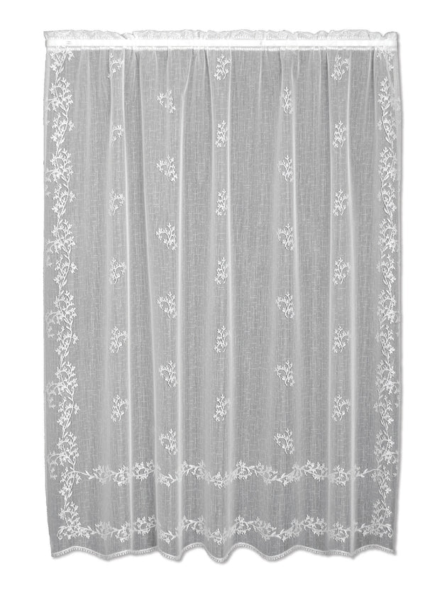 Heritage Lace Sheer Divine Panel, White