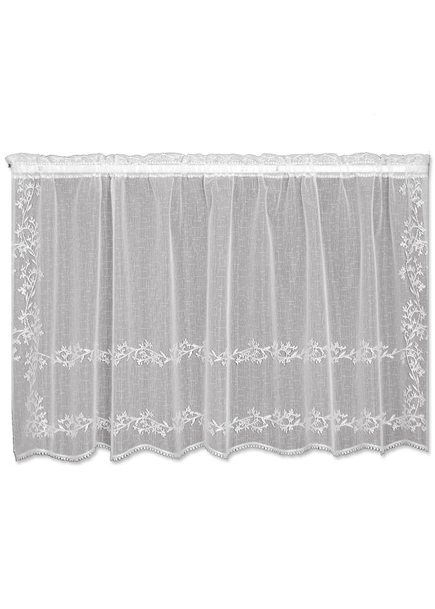 Heritage Lace Sheer Divine Tier, White