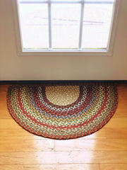 Capitol Earth Rugs Large Braided Slice Rugs
