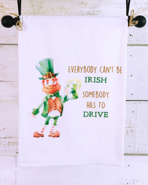 Southern Sisters Somebody Has to Drive Gourmet Flour Sack Tea Towel
