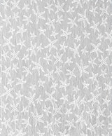 Heritage Lace Starfish Curtain Collection Closeup - White