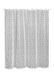Heritage Lace Starfish Shower Curtain, White