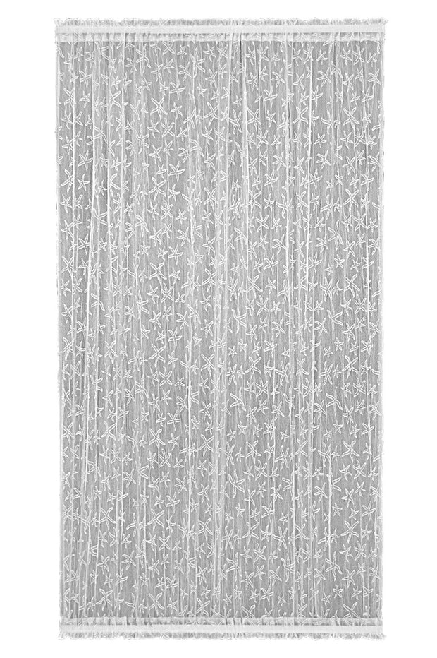 Heritage Lace Door Panel, White