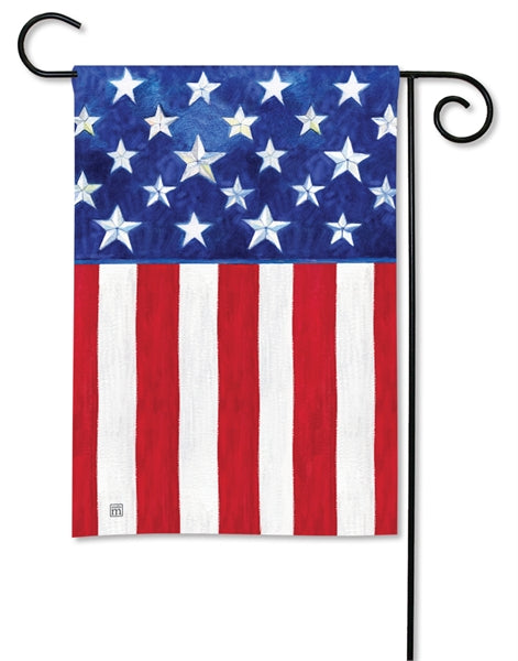 Studio-M Stars & Stripes Forever Garden Flag