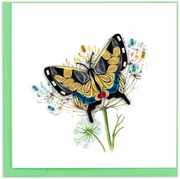 Swallowtail Butterfly Quilling Card