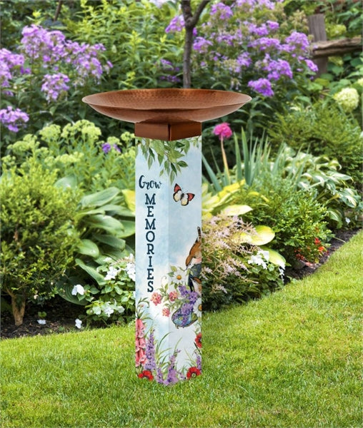 Studio-M Sweet Home Bird Bath Art Pole