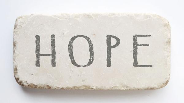 Hope Scripture Stone - Small & Half Block