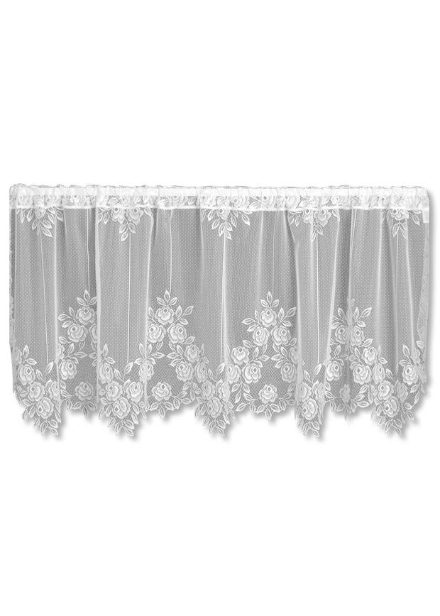 Heritage Lace Tea Rose Tier, White