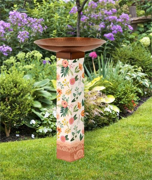 Studio-M Terra Flora Bird Bath Art Pole
