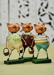 ESC & Co. Three Lil' Pigs by Lori Mitchell