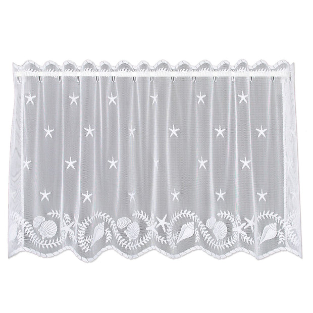 "Heritage Lace Tidepool 60""x30"" Tier- White"