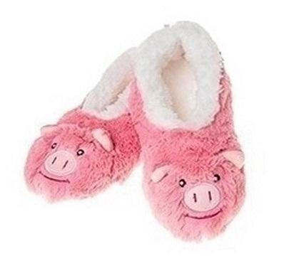 Pig Furry Foot Pals Snoozies for Toddlers