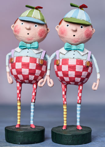 Tweedledee & Tweedledum by Lori Mitchell