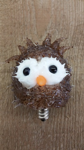 Vickie Jean's Creations - Ollie Owl Silicone Dipped Candelabra Bulb