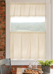 Heritage Lace Vintage Pom Pom Curtain Collection