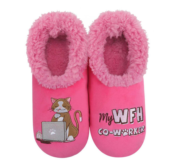 My Work From Home Co-Worker Snoozies Slippers