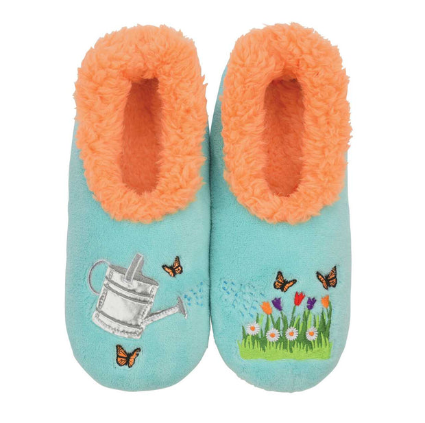 Watering Can Snoozies Slippers