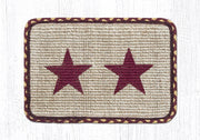 Americana Collection, Printed Jute Trivets/Miniature Swatches - CLICK FOR MORE DESIGNS & SIZES