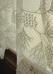 Heritage Lace Woodland Curtain Detail, Ecru