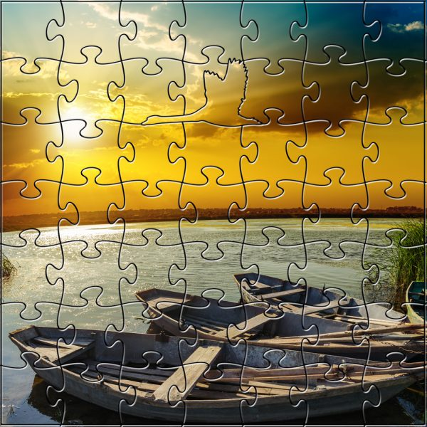 River Sunset Teaser Puzzle