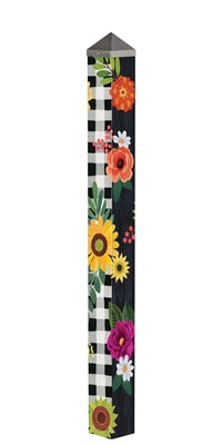"Autumn Blooms 60"" Art Pole"