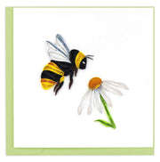 Bumble Bee Quilling Card