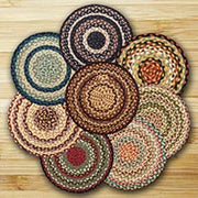 "Braided Jute Chair Pads, 15.5"" Round - CLICK FOR COLOR OPTIONS"