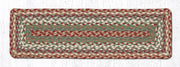 "Capitol Earth Rugs Braided Jute Stair Tread, 8.5"" x 27"" Rectangle, Buttermilk/Cream"