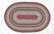 "Capitol Earth Rugs Sage Traditional Craft Spun Rug, Oval 20"" x 30"""