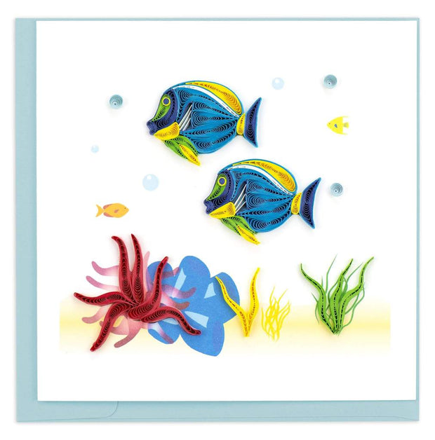 Colorful Fish Quilling Card