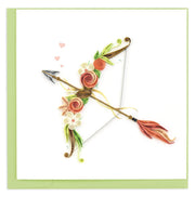 Cupid's Arrow Quilling Card