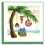 Island Holiday Quilling Card